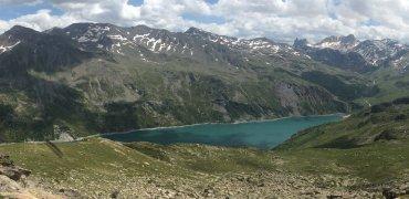Le lac de Bissorte vu du ciel